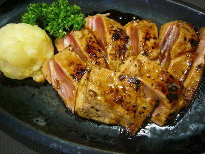 まぐろステーキ (2)