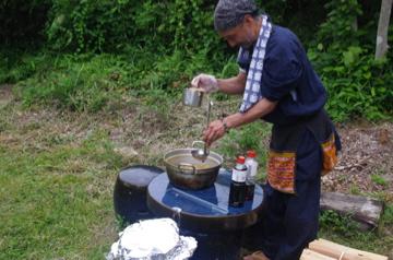 キノコの混ぜご飯