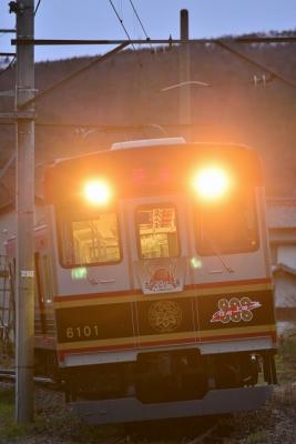 2016年4月11日 上田電鉄別所線 下之郷~中塩田 6000系6001編成