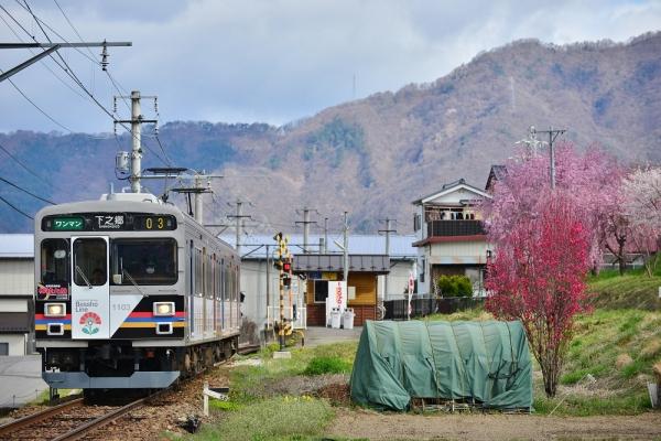 2016年4月11日 上田電鉄別所線 寺下~神畑 1000系1003編成