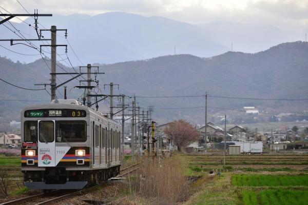 2016年4月17日 上田電鉄別所線 舞田~八木沢 1000系1003編成