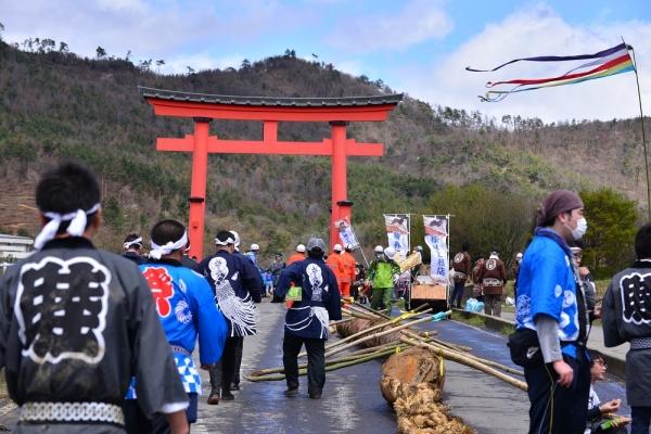 2016年4月17日 上田市 御柱大祭本大祭