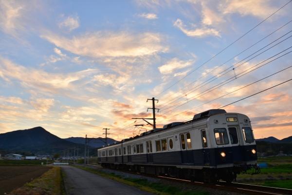 2016年4月22日 上田電鉄別所線 舞田~中野 7200系7255編成