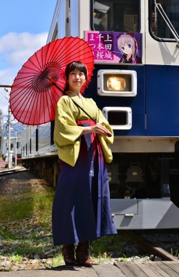 2016年4月29日 上田電鉄別所線 下之郷 1000系1004編成