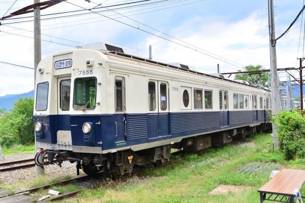 2016年6月26日 上田電鉄別所線 下之郷 7200系7255編成 第三回別所線を撮ろう!