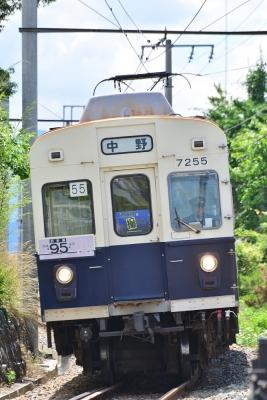2016年6月26日 上田電鉄別所線 赤坂上~三好町 7200系7255編成 第三回別所線を撮ろう!