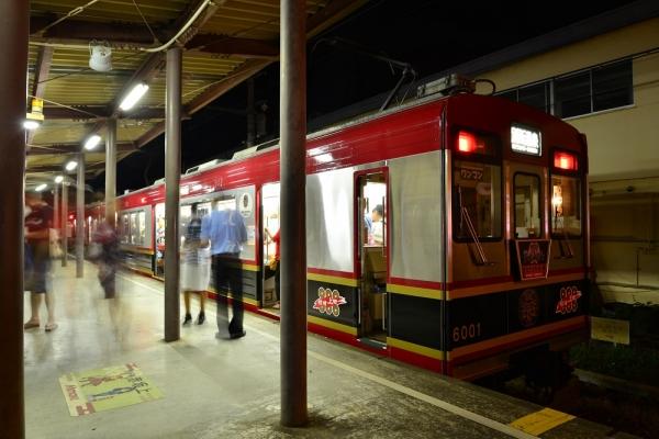 2016年7月30日 上田電鉄別所線 赤坂上 6000系6001編成