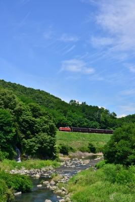 2016年7月30日 JR東日本小海線 小海~松原湖 DD16-11+旧型客車3両