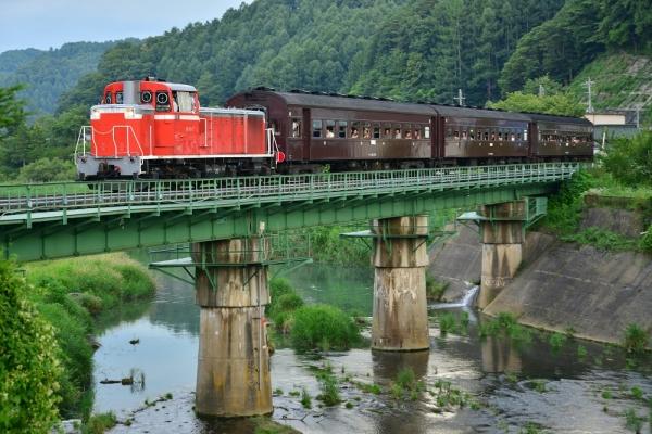 2016年7月30日 JR東日本小海線 佐久海ノ口~海尻 DD16-11+旧型客車3両