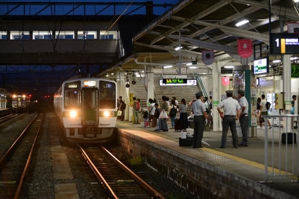 2016年8月16日 JR東日本磐越西線 会津若松 719系H-16編成