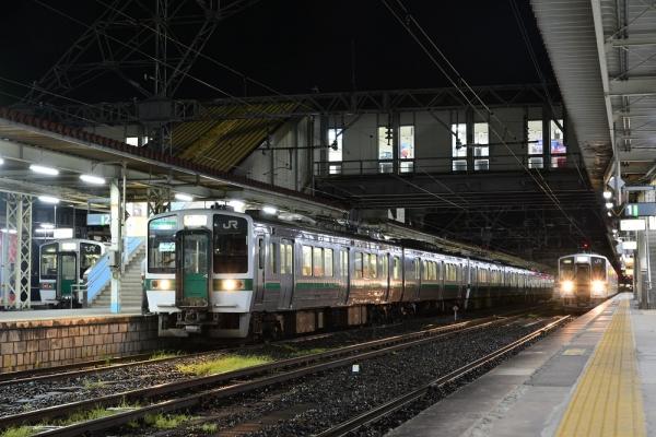 2016年8月16日 JR東日本東北本線・磐越西線 郡山 719系