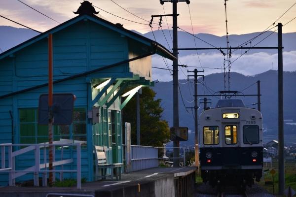 2016年10月24日 上田電鉄別所線 八木沢 7200系7255編成