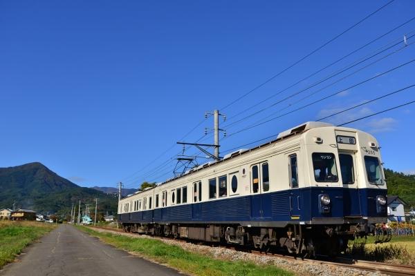 2016年10月24日 上田電鉄別所線 八木沢~舞田 7200系7255編成