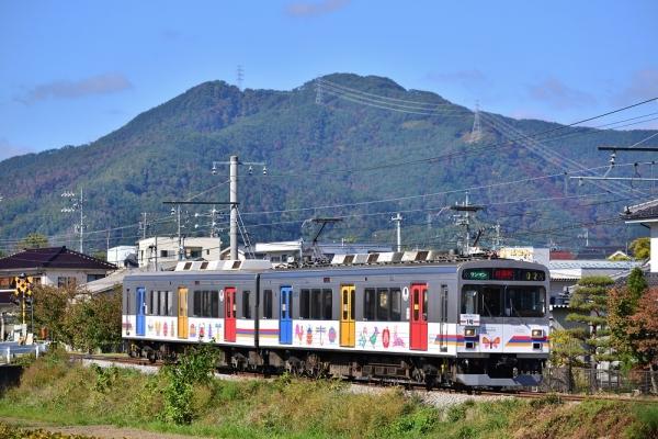 2016年10月24日 上田電鉄別所線 赤坂上~三好町 1000系1002編成