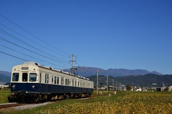 2016年10月24日 上田電鉄別所線 舞田~八木沢 7200系7255編成