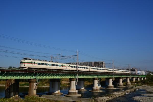 2016年11月5日 JR東日本中央本線 立川~日野 189系トタM52編成