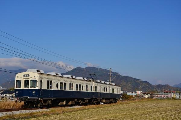 2016年11月12日 上田電鉄別所線 大学前~下之郷 7200系7255編成
