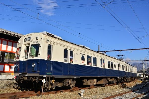 2016年11月12日 上田電鉄別所線 下之郷 7200系7255編成