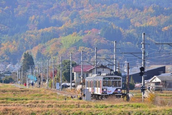 2016年11月12日 上田電鉄別所線 八木沢~舞田 1000系1003編成