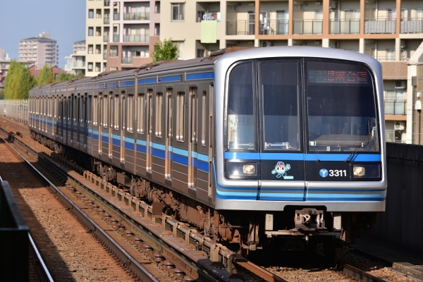2016年11月18日 横浜市営地下鉄ブルーライン 仲町台 3000R形第31編成