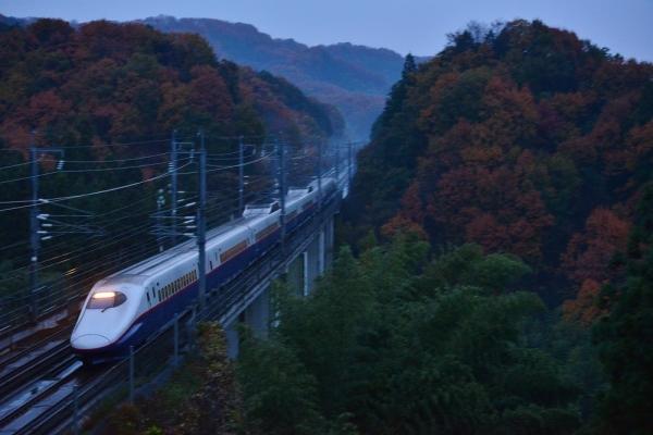 2016年11月27日 JR東日本北陸新幹線 高崎~安中榛名 E2系N5編成