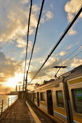 2016年12月3日 JR東日本鶴見線 海芝浦 205系T13編成