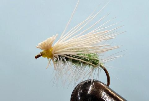 渓流釣り用のタモ&毛鉤