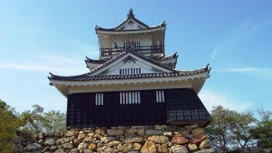 浜松城は野面積みの石垣で有名。歴代城主の多くが後に江戸幕府の重役に出世したことから「出世城」といわれた浜松城の写真
