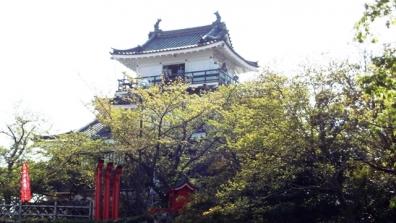 静岡県浜松市の浜松城の築城は徳川家康ではないという諸説もある浜松城