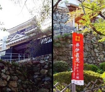浜松城は井伊直虎ゆかりの地であり野面積みの石垣で有名