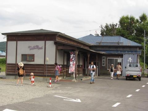 増毛駅駅舎