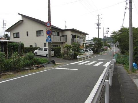慶雲寺参道入口