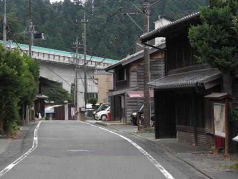 日坂宿下町