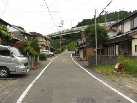 日坂宿上町(本町)