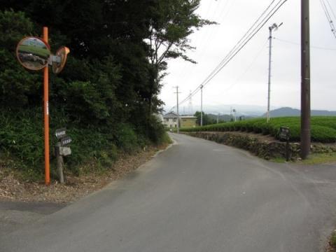 鎧塚付近の旧東海道