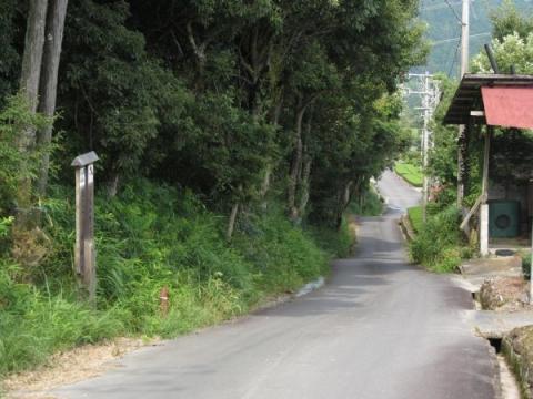 小夜の中山旧道