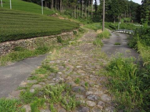 菊川坂石畳