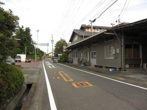旧東海道 諏訪原城跡付近