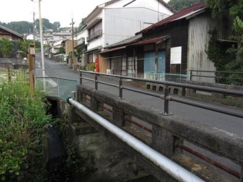 不動橋と金谷坂