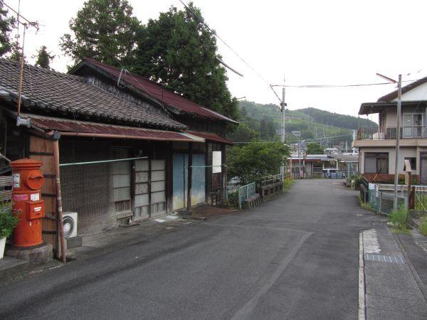街道の行く先へ 金谷宿