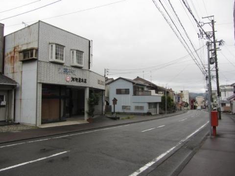 お七里役所(七里継御状箱御飛脚小屋)跡