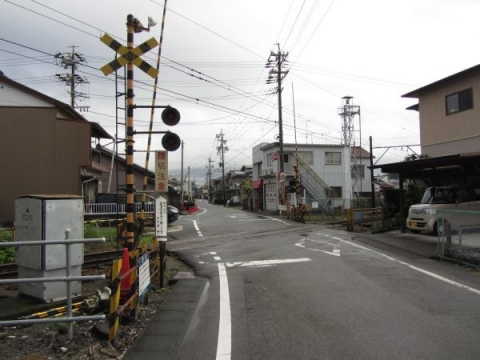 大井川鐵道の踏切