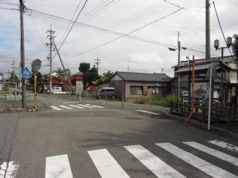大井川渡し場跡