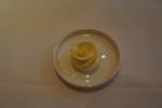 薔薇の形のバター