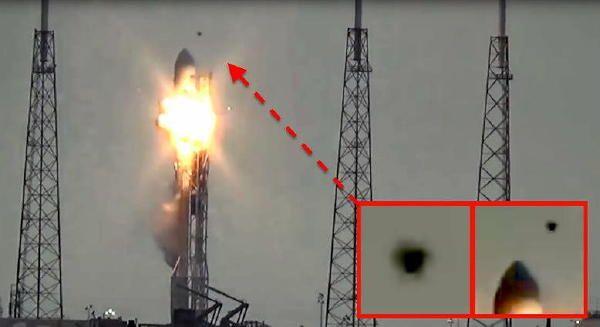 米国の宇宙企業スペースXの「ファルコン9」爆破