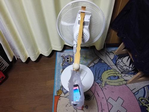 扇風機で自動孵化装置2