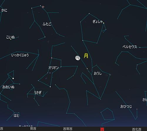 20161213 双子座流星群星図2