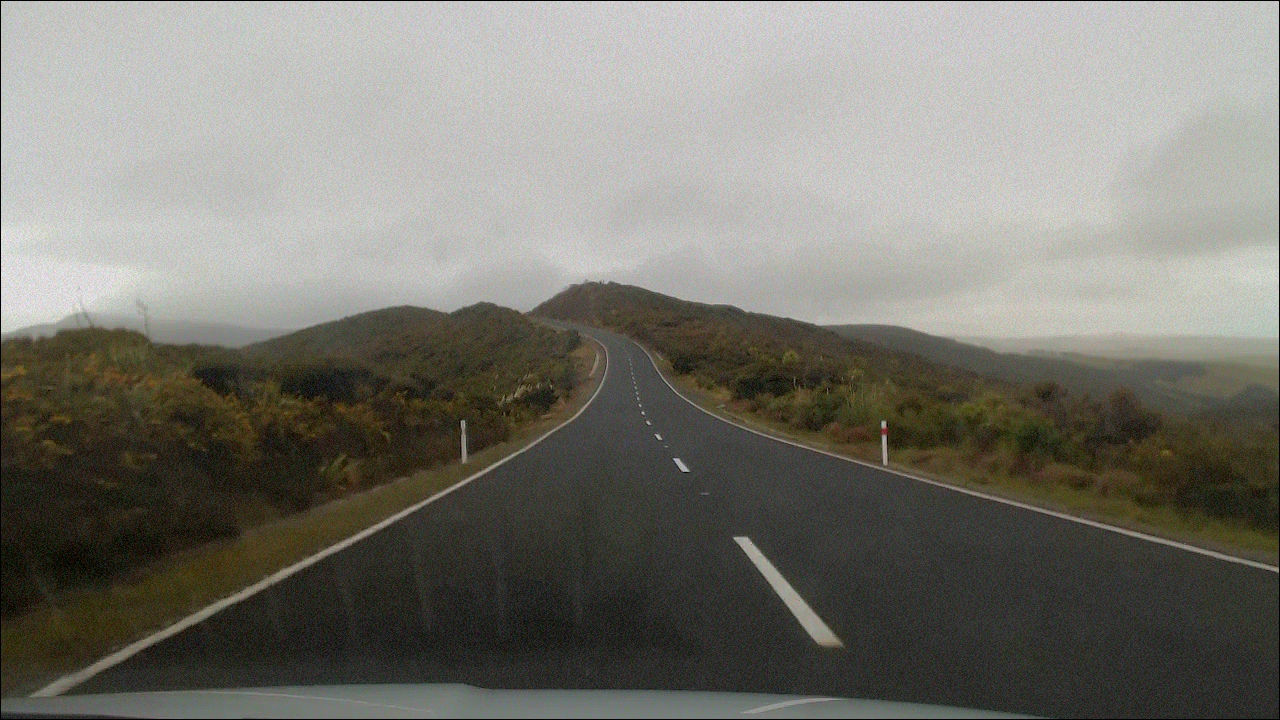 typhical road in NZ