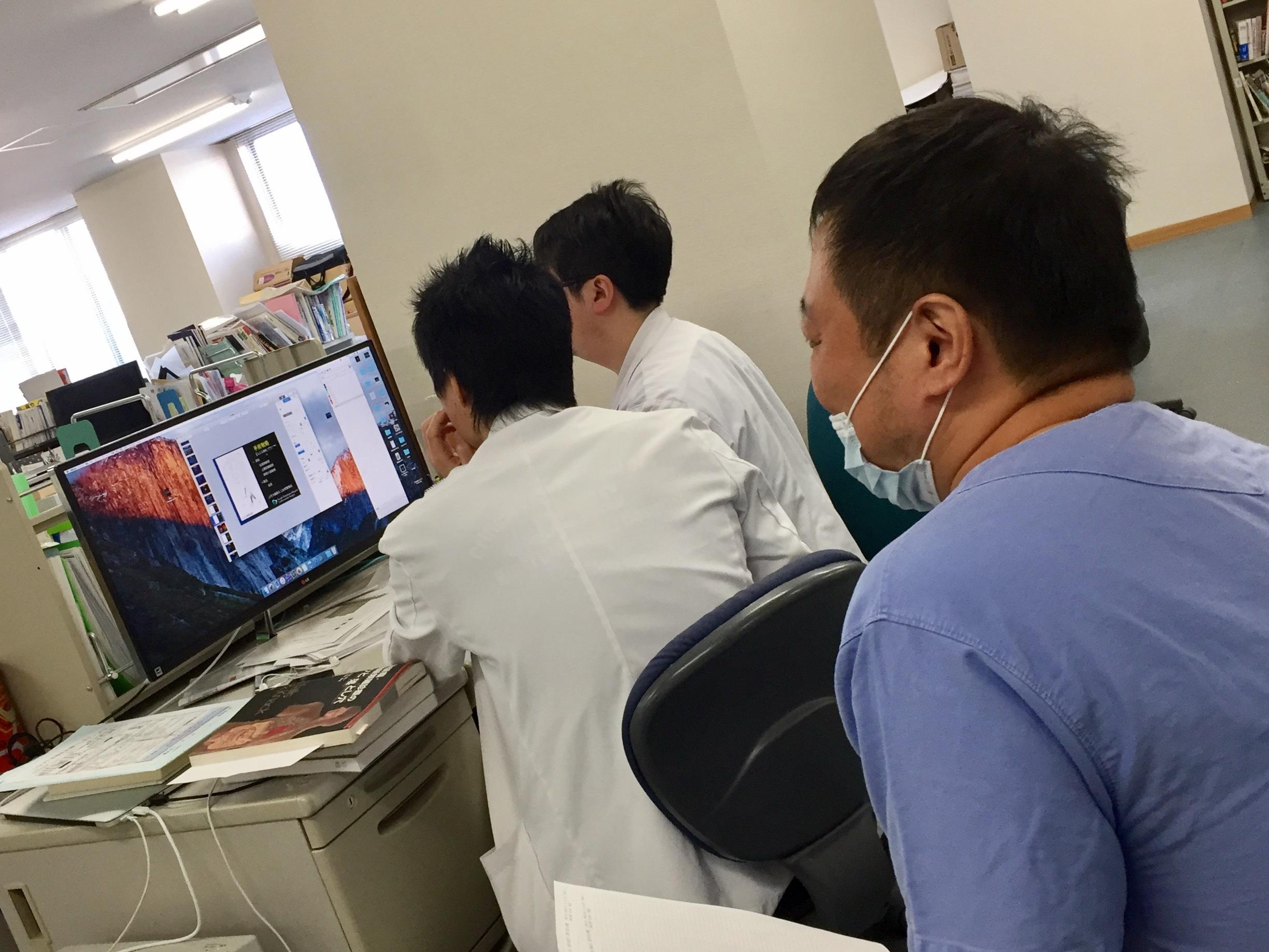 心臓血管外科チームと!