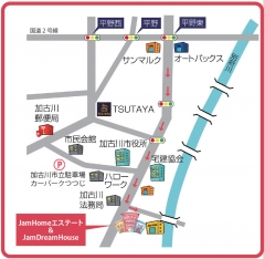 ジャム地図